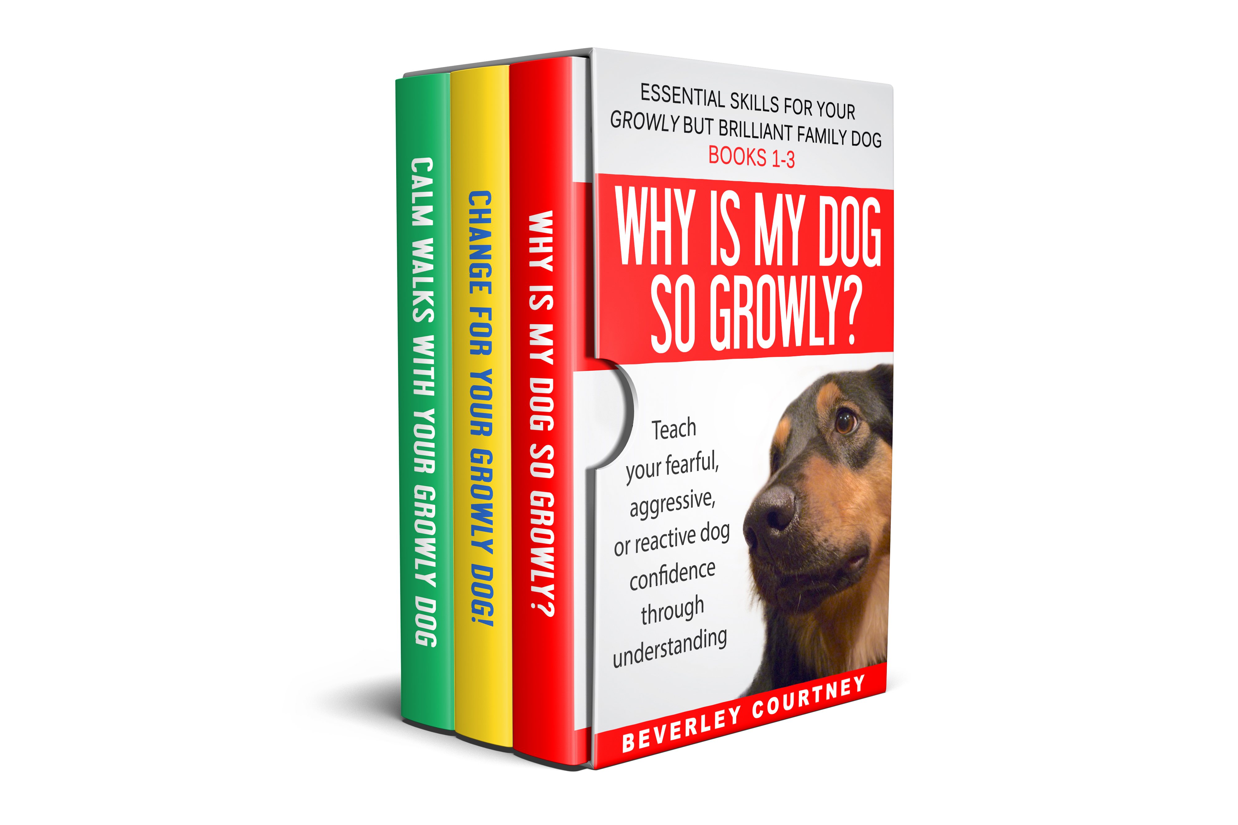 Books for Growly, reactive, or aggressive dogs