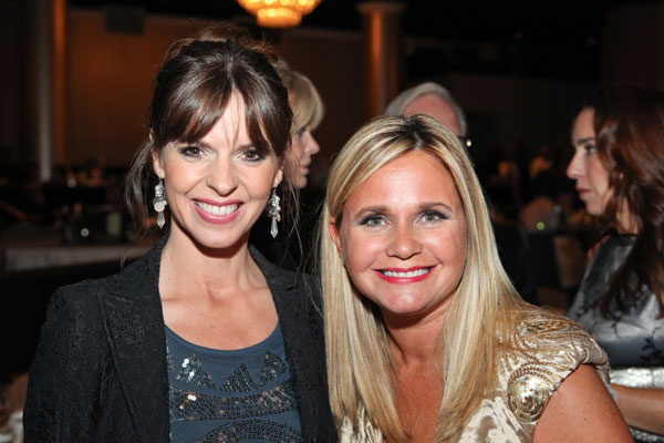Victoria with American Humane President and CEO Robin Ganzert at last year's awards show.