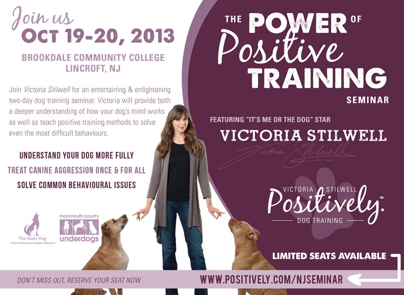 Power of Positive Training Seminar - NJ - Oct 19-20