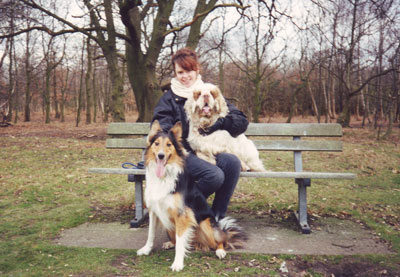 Dogs and Wimbledon Common - a great combination.