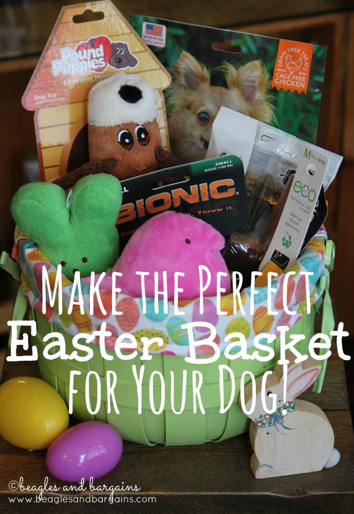 Make the Perfect Easter Basket for Your Dog!